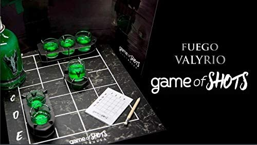 Game of shots: Juego de mesa Licor fuego Valyrio: Amazon.es ...