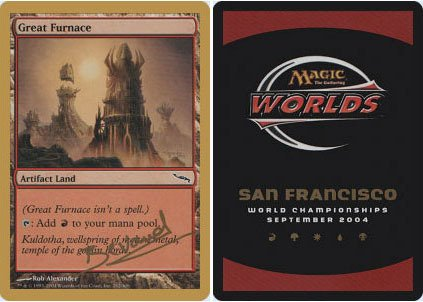 Magic: the Gathering - Great Furnace - World Championship Deck ()