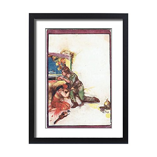Framed 24x18 Print of The Bird of Paradise by Richard Walton Tully (14408404) by Prints Prints Prints