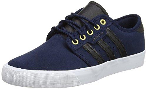 footwear Chaussures Skateboard collegiate Mixte core Bleu Black Adidas Seeley Adulte Navy De White qRaHHP
