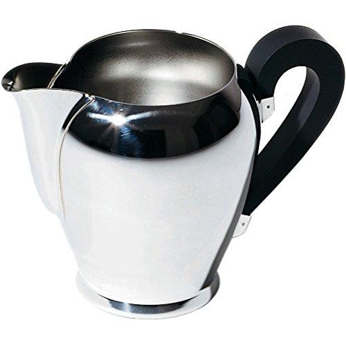 Alessi Officina Bombe Coffee Pot, Silver CA11/8 alessi coffee pot coffee tea espresso