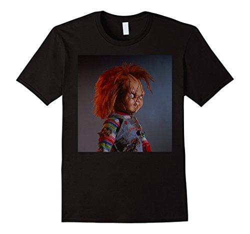 Bride of Chucky- Chucky Death Stare T-shirt]()