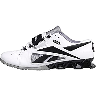 8b4c992511ec Reebok Womens Crossfit Lifter U-Form Trainers White Black Grey (42.5 ...