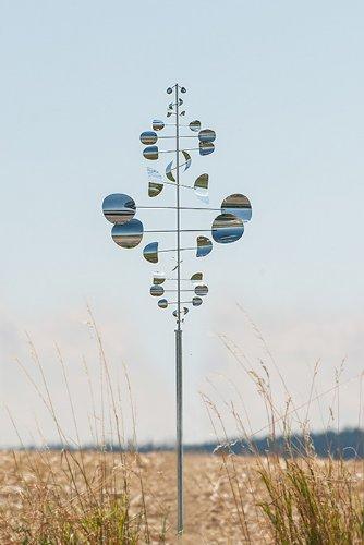 Winddancer Sailor Gigant - Gartendeko: Windspiel, tolles Geschenk für Gartenfreunde, Weihnachtgeschenk