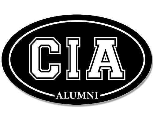 Oval CIA Culinary Institute of America Alumni Sticker (College Grad)