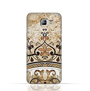 Samsung Galaxy C7 TPU Silicone Case with Abstract Mosaic Tile Texture
