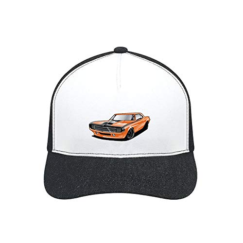 1969 Chevrolet Camaro Printed Sunbonnet for Men and Women with Adjustable Fashion