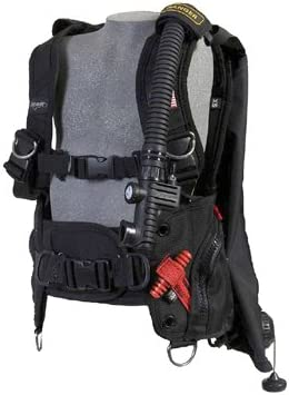 LARGE ZEAGLE RANGER RUGGED REAR BLADDER SCUBA DIVING BCD BC W// RIP CORD SYSTEM