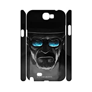 J-LV-F Breaking bad Customized Hard 3D Case For Samsung Galaxy Note 2 N7100