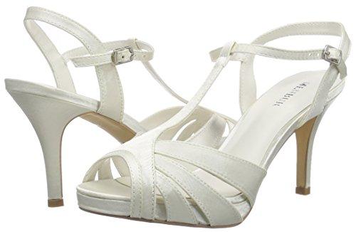 Elfenbein Menbur ivory Olivia Sandalias Mujer Wedding wrq1xfIw
