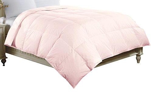 Luxlen Cotton Comforter, Down Alternative, Twin, Light Pink, X-Large (Pink Comforter Twin Down)