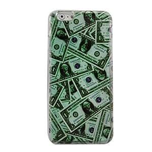 FJM Greenback Plastic Hard Back Cover for iPhone 6 Plus
