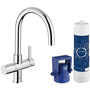 Grohe Blue Test grohe 31251dc0 grohe blue chilled sparkling dual function kitchen