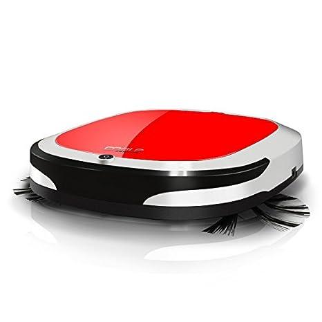 JJYJQR Robot Aspirador Máquina Barredora Automática Ultrafino Hogar Robot Inteligente Aspirador 7W 7.4V Escobilla Eléctrica Tipo Aleatorio Robótica, ...