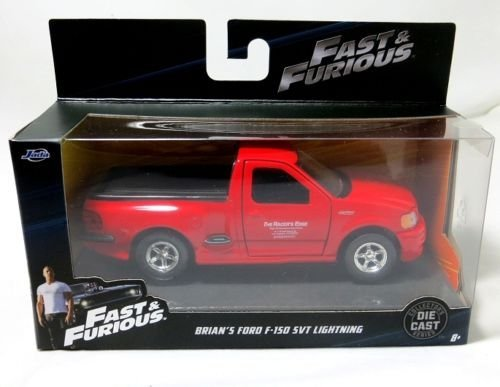 Svt Ford F150 Collectibles (Jada Fast & Furious 1:32 Scale Brian's Ford F-150 SVT Lightning (Red))