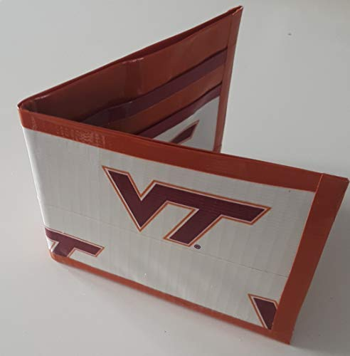 - Virginia Tech Hokies NCAA Bi-Fold Duct Tape Wallet