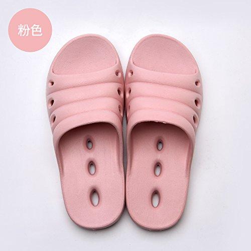 acqua nbsp;Signor plastica coppie 35 Fankou trascinare interni scarpe dal di uomini pantofole donne fuoriesce per e cool cool 36 anti rosa vi uso slittamento soggiorno di domestico bagni pantofole BTwdqxFTR