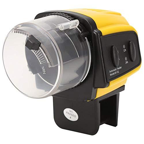 Alimentador automático de peces, temporizador Alimentador automático de alimentos para peces para acuarios con cinta...