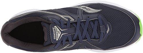 Saucony Men's Cohesion 11 Fitness Shoes, Various Blue (Nvy / Slm 1)
