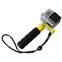 GD Fashion Grenade LWG Light Weight Grip selfie stick for GoPro Hero 4 / 3+ HR203 (yellow/purple/blue/black/orange)