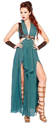Adult Warrior Maiden Costume - Brave - Large - (Warrior Maiden Adult Womens Costumes)