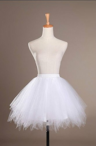 Cystyle - Vestido - globo - para mujer Weiß