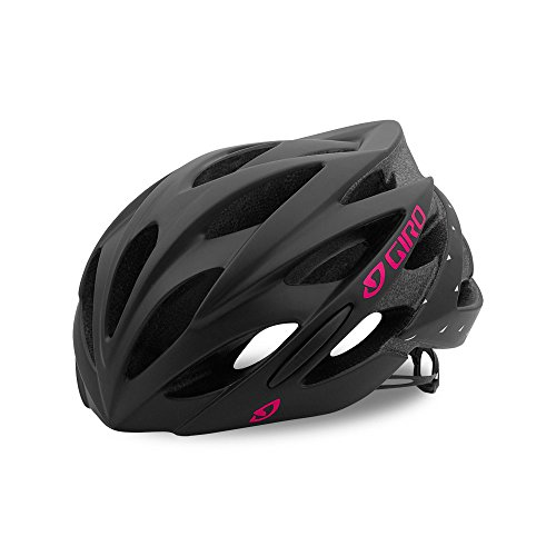 Giro Sonnet Womens Cycling Helmet Matte Black/Bright Pink Medium (55-59 cm)