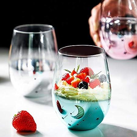 Se utiliza para beber vino, cócteles, zumos, bebidas y leche.,Adecuado para uso familiar, club, bar,
