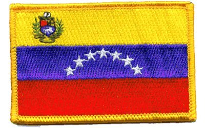 Venezuela iron-on embroidered -
