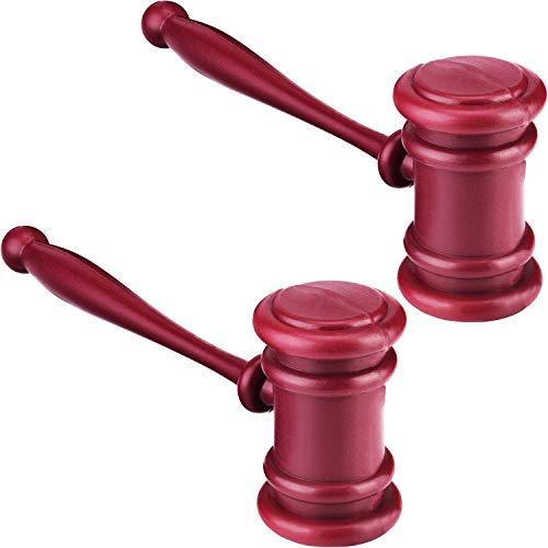 Halloween Costumes And Decorations - 2 Pieces Plastic Judge Gavel Courtroom