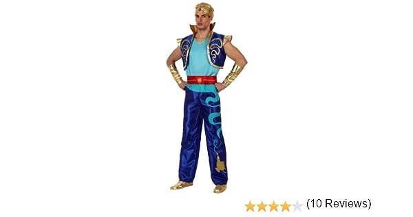 Atosa-10058 Disfraz Genio, color azul, M-L (10058): Amazon.es ...