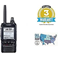 Yaesu FT-2DR Dual Band C4FM Hand-Held Transceiver with 3 Year Warranty and Ham Guides TM Quick Reference Guide Bundle!! …