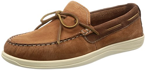 Cole Haan Men's Boothbay Camp Moccasin Boat Shoe, Woodbury, 9 M US
