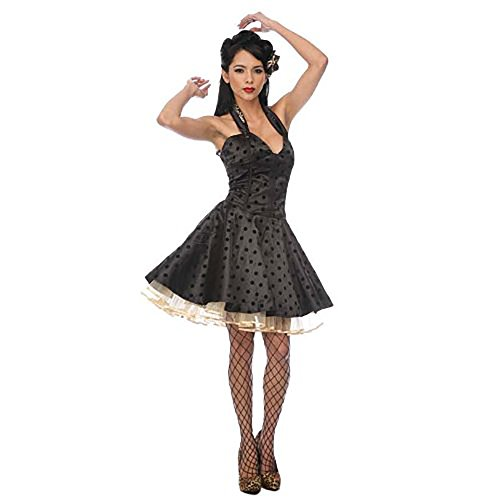 Jawbreaker DOTS Kleid CUTE Black leo DRESS black E66qr