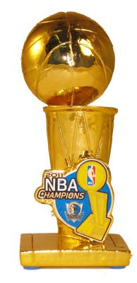 Forever Collectibles Dallas Mavericks 2011 Nba Finals Champions Trophy Paperweight