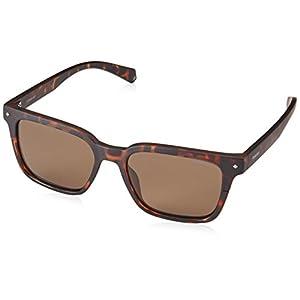 Polaroid PLD 6044/S Rectangular Unisex Sunglasses, 52mm