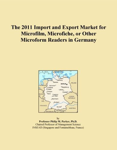 The 2011 Import and Export Market for Microfilm, Microfiche, or Other Microform Readers in Germany