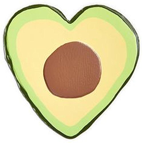 Celebrate Shop Extra-Large Puffy Handbag/ Clothing Sticker Patch (Avocado)