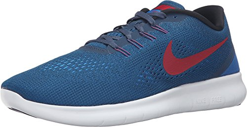 Nike Free RN Squadron Blue/Gym Red/Blue Spark/Black Mens Running Shoes