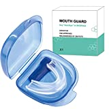 Mouth Guards for Teeth Grinding, Anti Snoring Devices Sleep Aid Custom Fit Night Dental Guard with Case for Sleeping