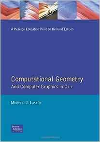 Amazon Com Computational Geometry And Computer Graphics border=