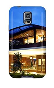Fashion Protective Modern Houses Case Cover For Galaxy S5