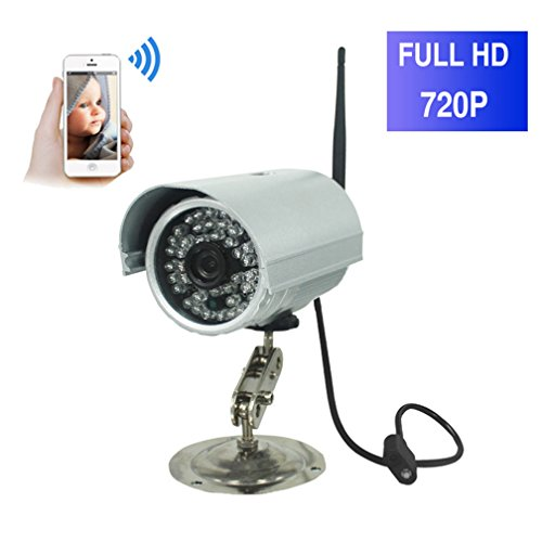 ShengyaoHul 720P HD Outdoor Babyphone Plug-And-Play, 1 Mp Sistema Di Telecamere Di Sicurezza Casa Ip / Telecomando / Telecomando / Cattura Di Immagini Sorveglianza Telecamera Ip