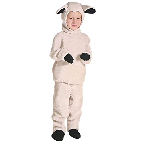 (CH&Q Kids Adult Toga Sheep Costumes Halloween Fancy Dress Animal Cosplay)