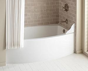 Tub Shower Splash Guards Set Of 2 Amazon Co Uk Electronics
