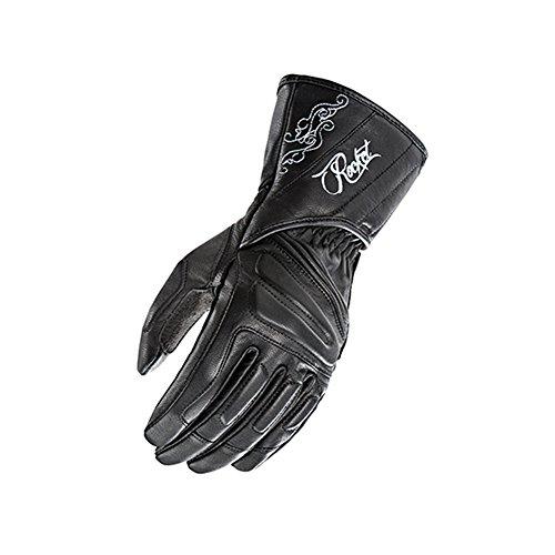 (Joe Rocket Pro Street Womens On-Road Motorcycle Leather Gloves - Black/Large)
