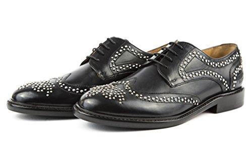 Melvin & Hamilton - Zapatos de cordones de Piel Lisa para mujer negro negro 37