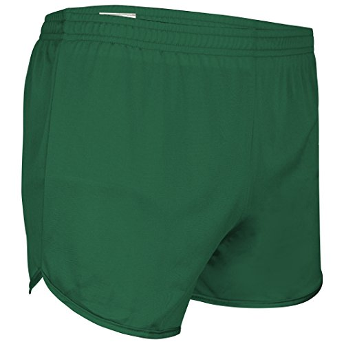 Men's Athletic Gym Shorts for Running, Cycling, Yoga, and Sports TR-60 Forest Green ()