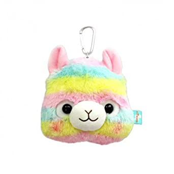Amazon.com: Amuse arco iris alpacasso alpaca 15 cm funda de ...