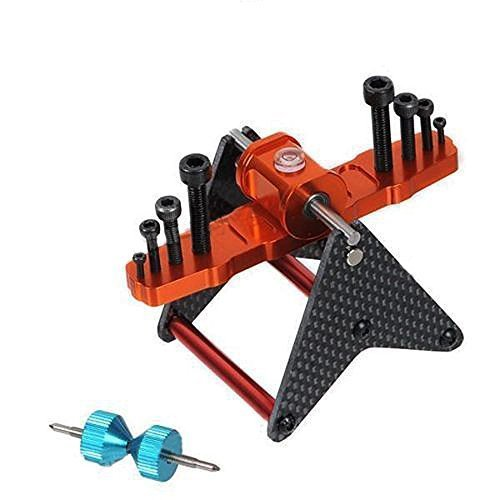 KKmoon Blade Propeller Balancer for 250 450 500 600 700 RC Helicopter Multirotor - Heli Helicopter Rc